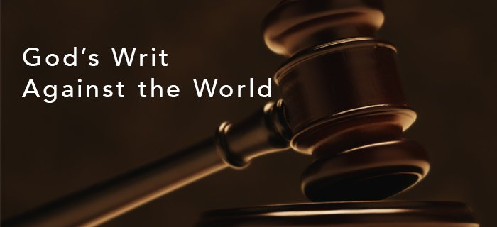 God's Writ Against The World poster