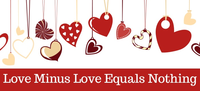 Love Minus Love Equals Nothing poster