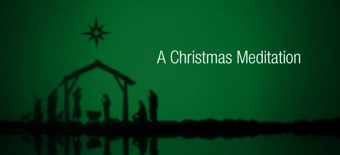 A Christmas Meditation poster