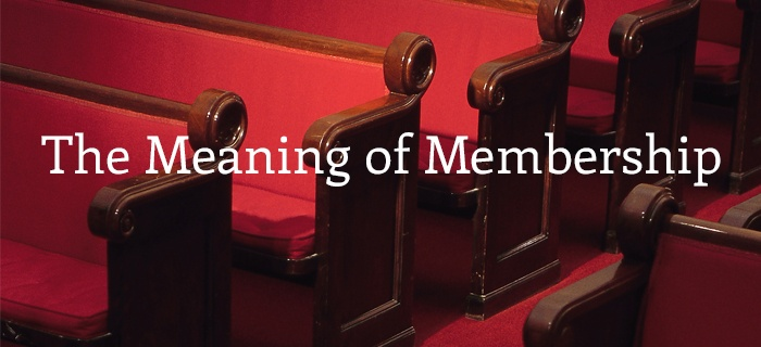 The Meaning of Membership poster