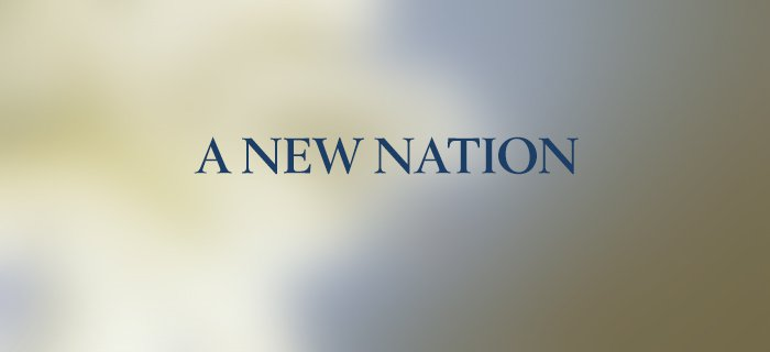 A New Nation poster