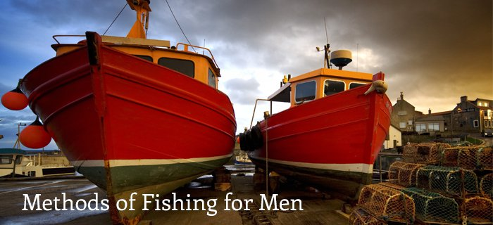 Methods Of Fishing For Men poster