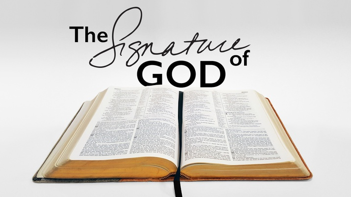 Poster for The Signature Of God