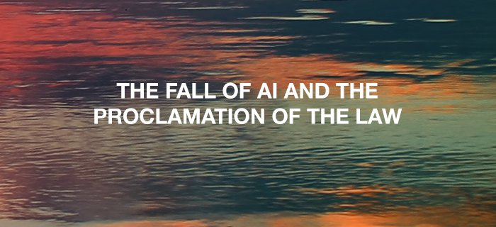 The Fall Of Ai And The Proclamation Of The Law poster