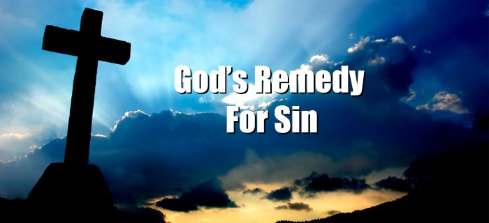 God's Remedy For Sin poster
