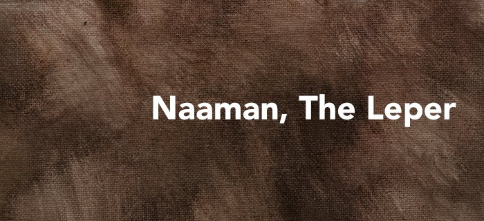 Naaman, The Leper poster