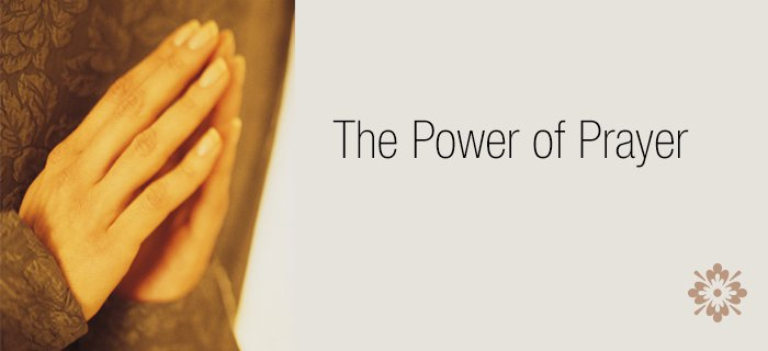 The Power Of Prayer poster