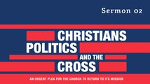 The Cross And The Flag Poster