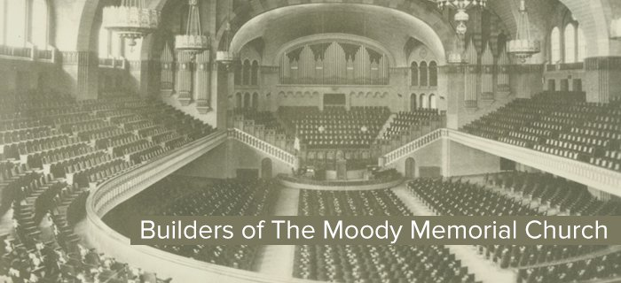 Builders Of The Moody Memorial Church poster
