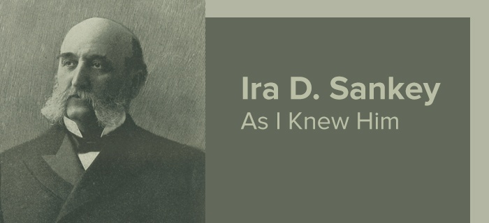 Ira D. Sankey As I Knew Him poster