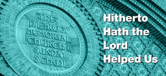 Hitherto Hath the Lord Helped Us poster